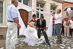 Hochzeit Spiele Vor Dem Standesamt