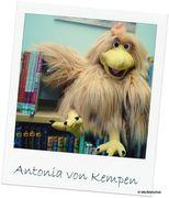 Antonia von Kempen - Lesehuhn und Maskottchen
